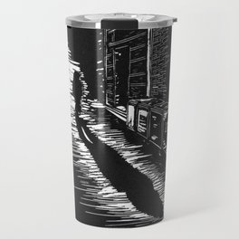 Down a Hidden Alley Travel Mug