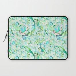 Mermaid Pattern 05 Laptop Sleeve