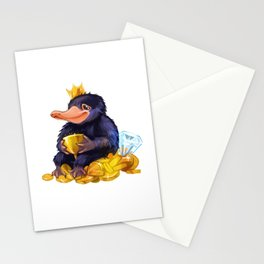 Naughty Niffler Stationery Cards