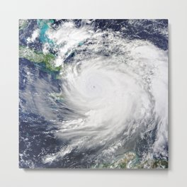 Gulf Coast Hurricane Metal Print