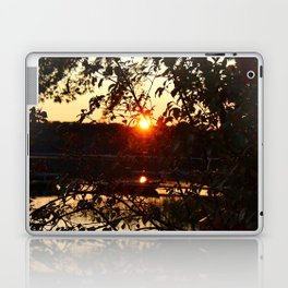 Sunset Settling Laptop & iPad Skin