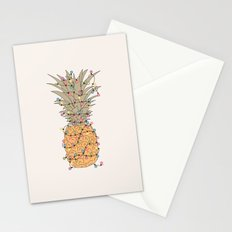 Tropical Lights Stationery Cards
