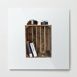 Shelf on print Metal Print