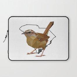 South Carolina – Carolina Wren Laptop Sleeve