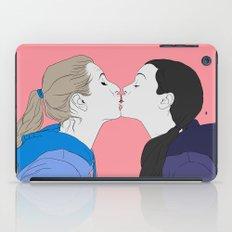 Girly kiss iPad Case