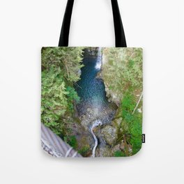 lynn canyon suspension bridge, 2017 Tote Bag