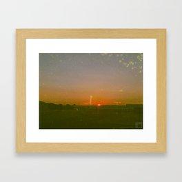 Utah Sunset 02 Framed Art Print