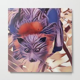 The Flying Fox Metal Print