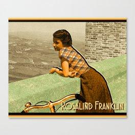 Rosalind Franklin Canvas Print