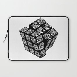 qr cube Laptop Sleeve