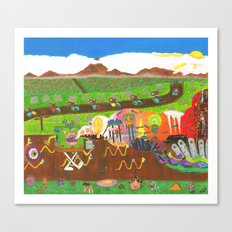 Regurgitated Storytelling Canvas Print