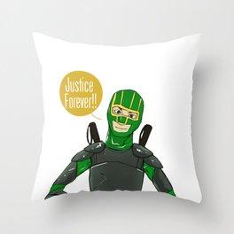 Kick Ass 2 Throw Pillow