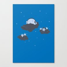 The Silent Night Canvas Print