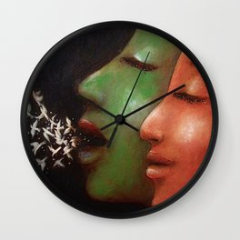 I Know Why the Caged Bird Sings Wall Clock