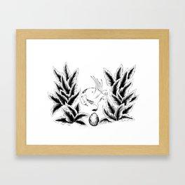 The Ugly Duckling Egg Framed Art Print