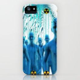 Aliens Gang & Acid Radioactivity Cure iPhone Case
