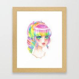 A Rainbow Doll 0824 Framed Art Print