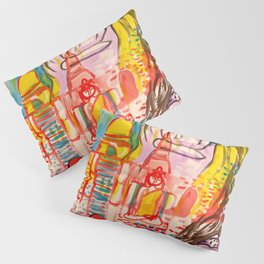 Ayutthaya in Thailand Pillow Sham