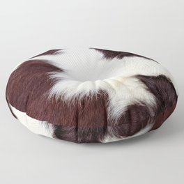 Cowhide Fur Floor Pillow