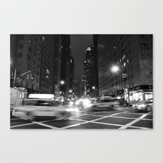 Avenue of the Americas Canvas Print