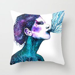 Breath Throw Pillow