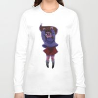 gravity falls Long Sleeve T-shirts featuring Gravity Falls- Floating by Welcoming-Meg