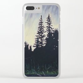 After the Storm – Evening, Algonquin Park Clear iPhone Case