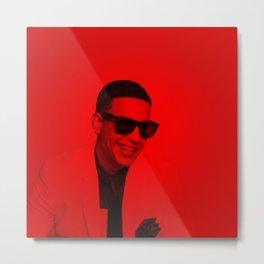 Daddy Yankee - Celebrity (Photographi Art) Metal Print