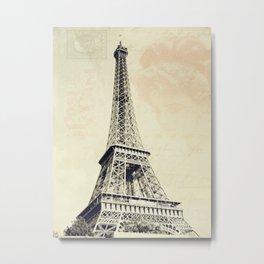Parisian Vintage Metal Print