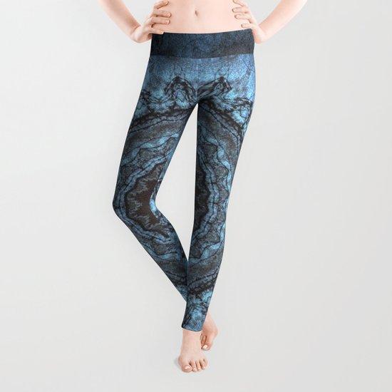 Bohemian Blue Leggings