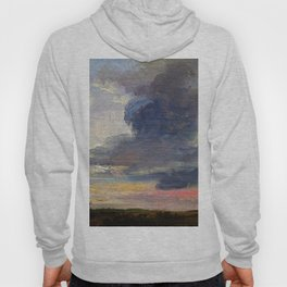 Cloud Study Over Flat Landscape - Digital Remastered Edition Hoody