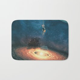 My dream house is in another galaxy Bath Mat