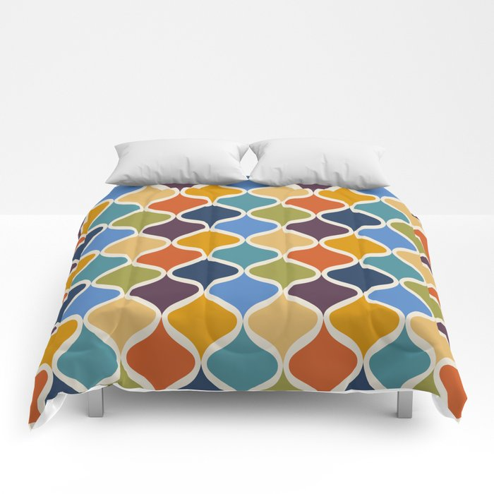 Moroccan Fall 1 Comforters