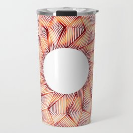 Threaded Lotus Travel Mug