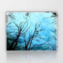 Aqua Skies Tree and Stars A163 Laptop & iPad Skin