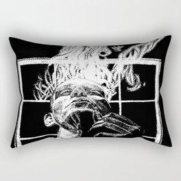 Ink and smoke Rectangular Pillow