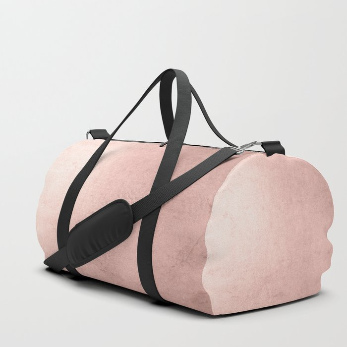 Blush Rose Gold Ombre Duffle Bag