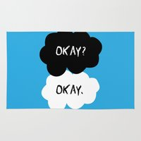 tfios Area & Throw Rugs featuring Okay by alboradas