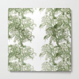 trees tile horizonal Metal Print