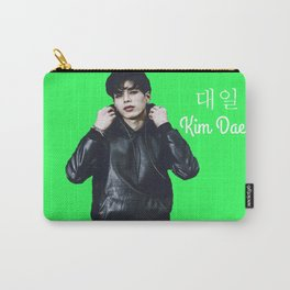 24K Kim Daeil Green Carry-All Pouch