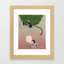 Mu Guai Likes Fat Children Framed Art Print