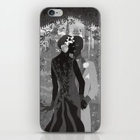 gotham iPhone & iPod Skins featuring Gotham Twenties by Caroline Krzykowiak