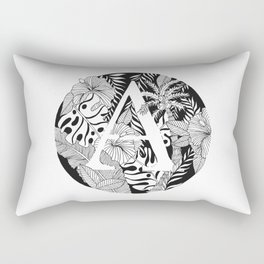 Tropical A Rectangular Pillow