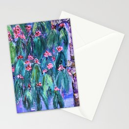 Rustic Flowering Gum Stationery Cards