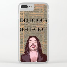 Vladislav (Dictionary Page) Clear iPhone Case