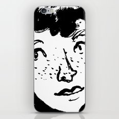 Ink Portrait iPhone & iPod Skin