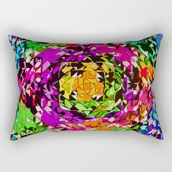 Pinwheel Rectangular Pillow