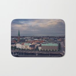 Copenhagen Skyline Bath Mat
