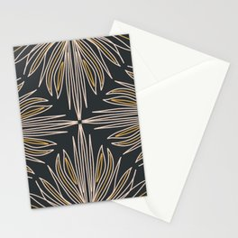 Peace Lily - Abstract Art Print Stationery Cards