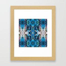 Floating Skyline Framed Art Print